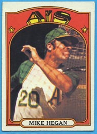 1972 Topps Baseball Cards      632     Mike Hegan